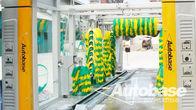 China Equipo de lavado de coches con tres ventiladores de soplador secado, rollover Lave sistemas fábrica